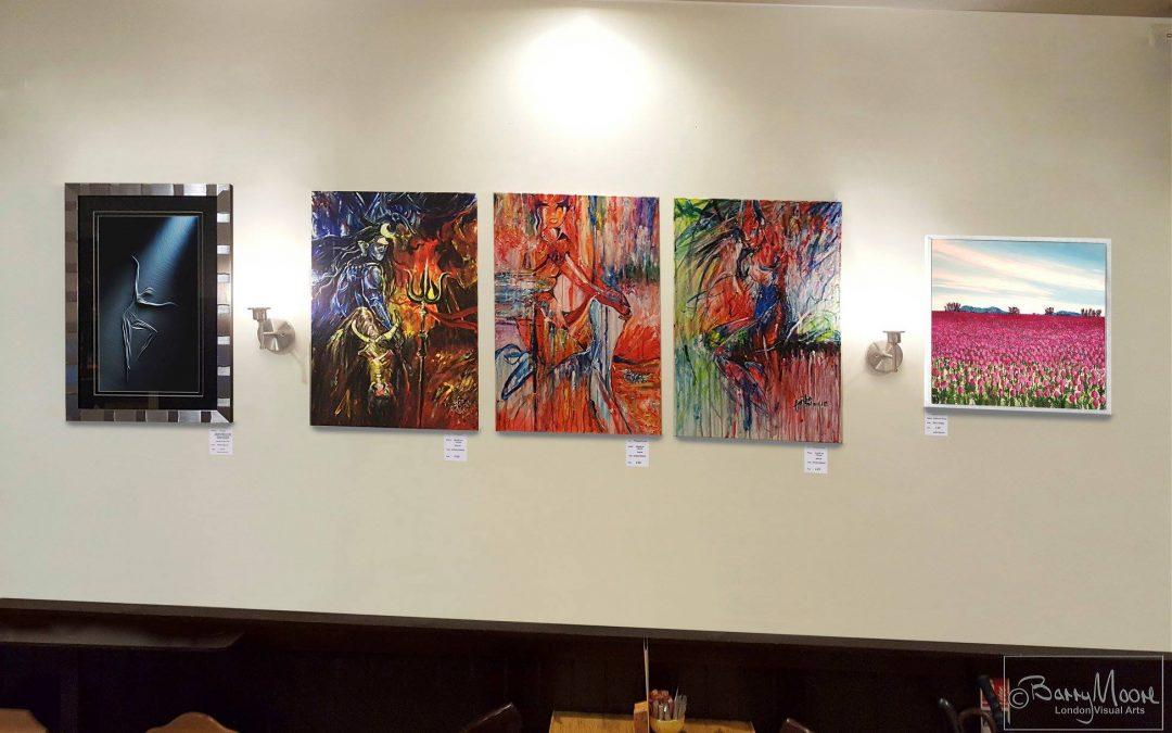 london visual arts exhibition – fego arts caffé