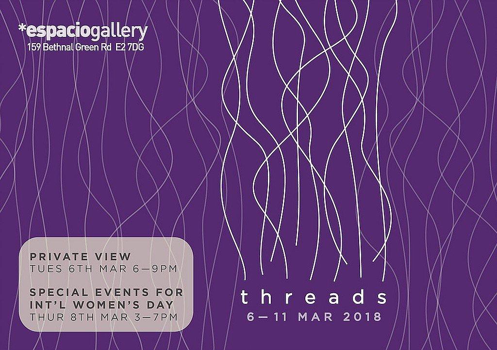 'threads' – espacio gallery london e2