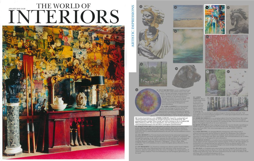 world of interiors – issue january 2019
