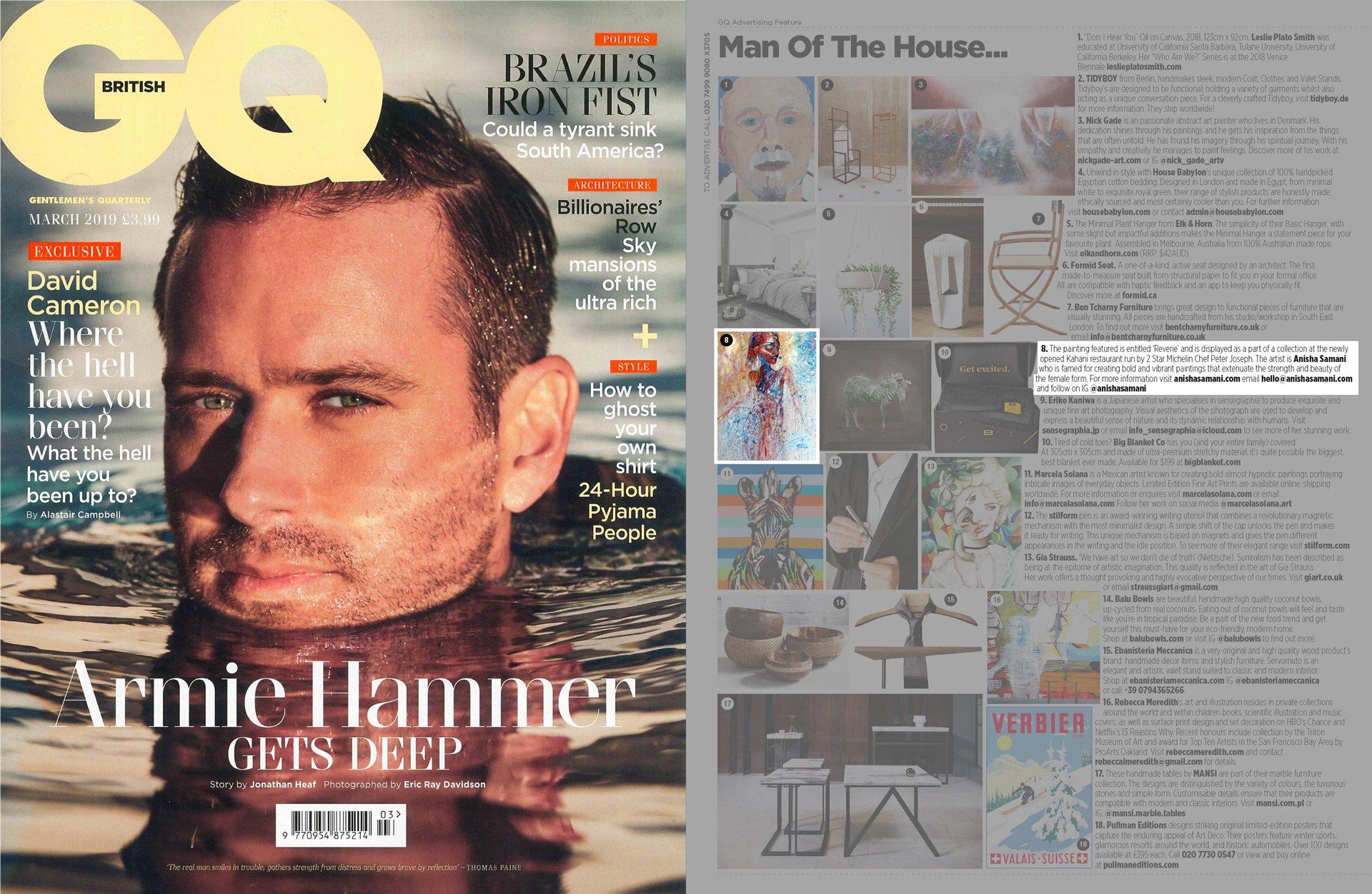 british gq – issue march 2019