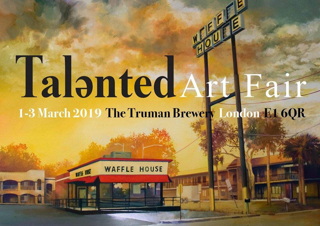 talented art fair – the truman brewery